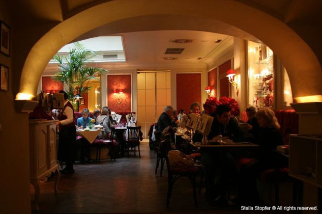 Cafe Sacher interior