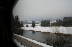 Munich to Chur