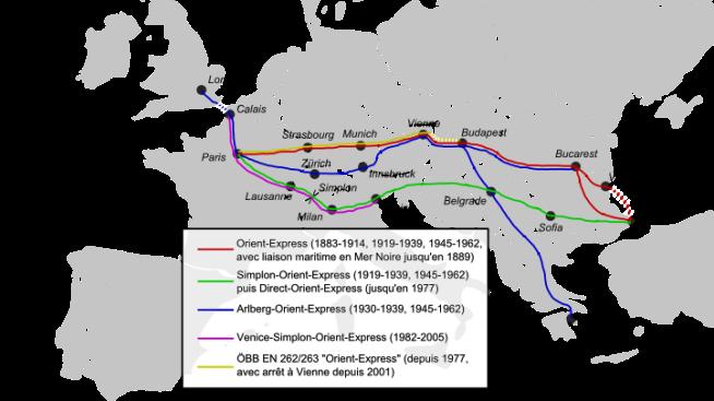 Orient Express histoire